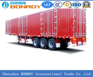 High Quality 3axle Van/Box Semi Trailer pictures & photos