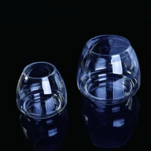 Clear Glass Container for Scented Candle pictures & photos