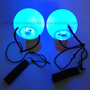 Super Popular LED Flashing Poi Ball with Multi-Color Light (3560) pictures & photos