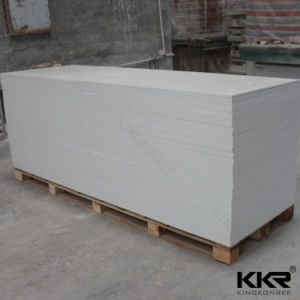 Kkr Wholesale Glacier White Acrylic Solid Surface Sheet pictures & photos