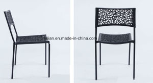 slimming Plastic Stacking Side Chair (LL-0044A) pictures & photos