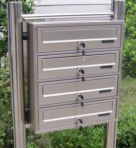 Special Design Stainless Steel Mailbox for Letters and Newspapers pictures & photos