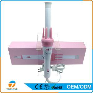 Pink Ceramic Magic Popular Hair Roller Electric Hair Curler Iron for Hair Care Salon Equipment pictures & photos
