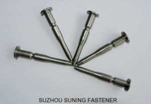 High Precision Steel CNC Machining Stainless Steel Carbon Steel Dowel Pin Shaft Bolt pictures & photos