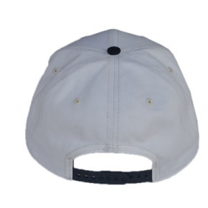 Whtie Hot Sale 3 Flat Brim Snapback Hat/Cap pictures & photos