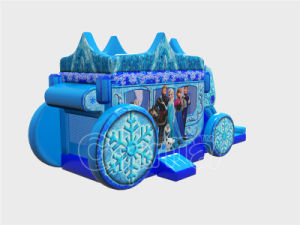 New Frozen House Inflatable Jumping Castle with Slide (CHB1125-1) pictures & photos