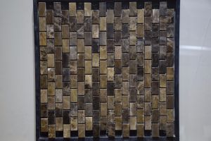 Strip Glass Mosaic and Stone Marble for Wall Background pictures & photos