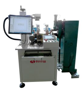 Automatic Laser Welding and Engraving Machine for Sodering and Marking Motor Shell Cases pictures & photos