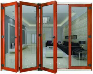 Modern Design Aluminum Toilet Bi Fold -Door