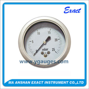 Differential Pressure Gauge-Low Pressure Gauge-Mbar Pressure Gauge pictures & photos