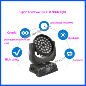 LED Disco Light 36*12W Zoom Beam Moving Head pictures & photos