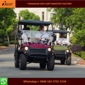 200cc 4 Seater Gas Powered Golf Cart pictures & photos