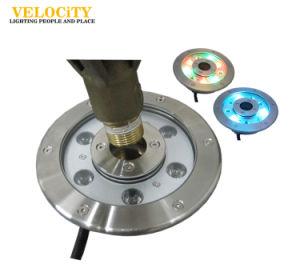 IP68 6W/9W/12W/18W/24W RGB Stainless Steel LED Fountain Light pictures & photos