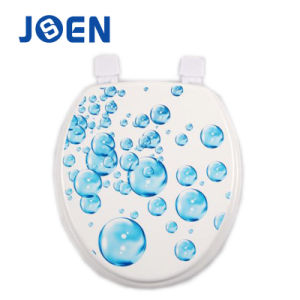 Bubble Design Printing Mold Wood MDF Toilet Seat pictures & photos