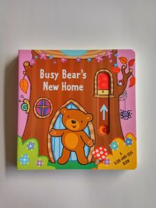 Funny Educational Pull and Push Children Board Book for Kids Learning&Playing
