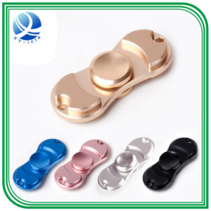 2017 New Rainbow Color Alloy Metal Fidget Hand Finger Spinner pictures & photos