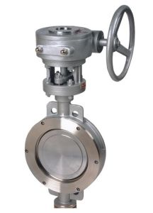 . Wcb Stainless Steel Metal-Seal Butterfly Valve