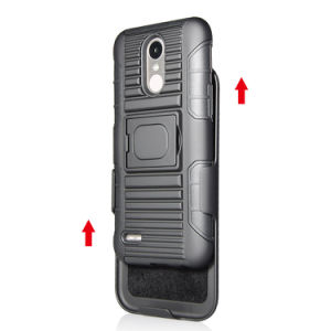 for LG K10 2017 Cases Hybrid Defender Rugged Hard Cover Phone Case pictures & photos