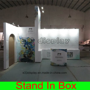Custom DIY Fabric Portable Modular Shape Curved Expo Display Stand pictures & photos