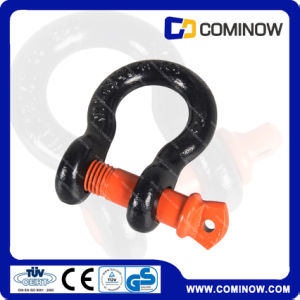 G209 Screw Pin Anchor Shackle / Us Type Drop Forged Bow Shackle pictures & photos