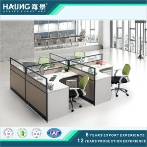 Easy Installation and Labour Save Full Height Office Partition pictures & photos
