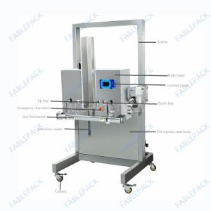 Plastic Bag Rice Vacuum Packing Machine for Meat (DZQ-700OL) pictures & photos
