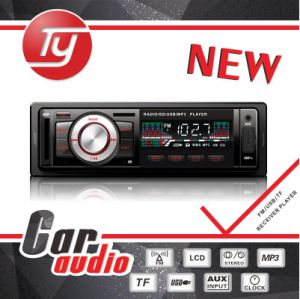 1 DIN Car Radio with LCD Display and USB Player pictures & photos