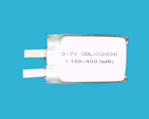 300mAh 3.7V Lithium Polymer Battery Safe Long Cycle Life pictures & photos