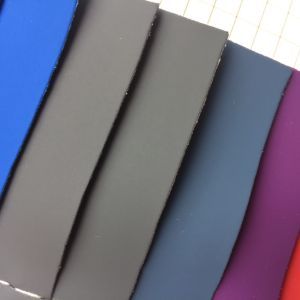 Elastic Plain PU Leather for Package pictures & photos