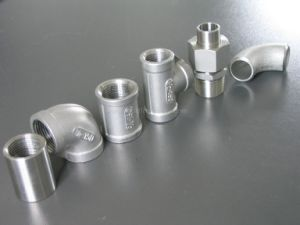 Stainless Steel Threaded Pipe Fittings and Joint pictures & photos