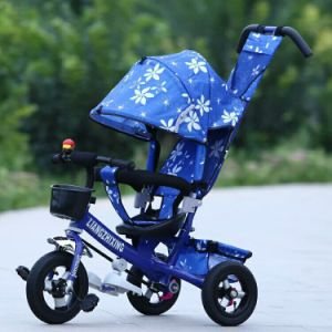 2017 New Model 4 in 1 Kids Tricycle Baby Tricycle pictures & photos