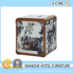 Hotel Furniture Home Modern Furniture Fur Leather Coffee Table pictures & photos