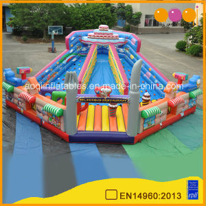 Big Child Inflatable Fun Park Restaurant Theme Inflatable Fun Playground for Sale (AQ01477) pictures & photos