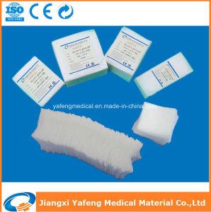 Medical Gauze Sponge Bleached Cotton pictures & photos