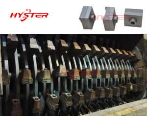 Sugarcane Machinery Parts Fibrizor Hammers Tips 63HRC pictures & photos