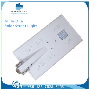 30W Waterproof IP65 Lithium Battery Integrated All in One LED Solar Street Light pictures & photos