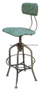 Industrial Metal Restaurant Dining Furniture Toledo PU Bar Stools Chair pictures & photos
