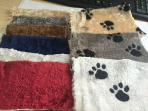 100% Polyster Boa Fake Fur on Cat Trees pictures & photos