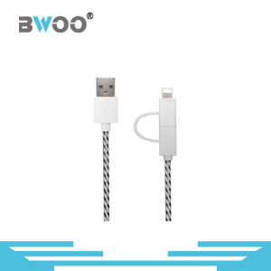 Factory Directly 2 in 1 Flexible Data Cable USB pictures & photos