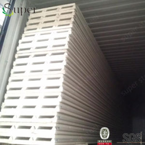 Heat Insulated PU Foam Sandwich Panel for Exterior Wall pictures & photos