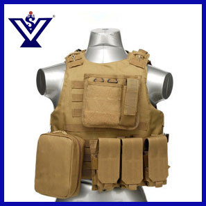 Military Paintball Combat Soft Gear Airsoft Protective Tactical Vest (SYSG-201742) pictures & photos