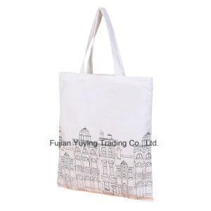 Customized Promotional Organic Tote Cotton Bag (CBG033) pictures & photos