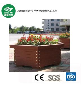 Steady Quality WPC Flower Pot for Garden pictures & photos