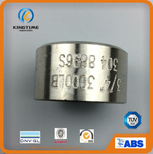 ASME B 16.11 Half Coupling Stainless Steel Fitting with OEM (KT0558) pictures & photos