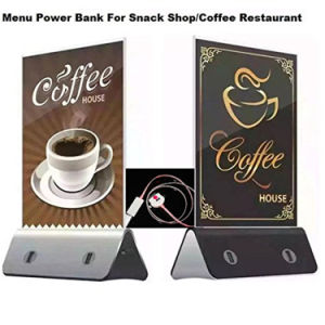 Advertising 4-USB Caffee Meau USB Power Bank for Mobile Phone pictures & photos