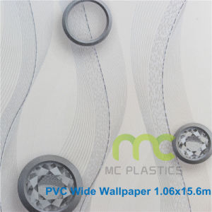 Decorative 3D PVC Wallpaper/ Living Room, Office, Restaurant Decoration pictures & photos