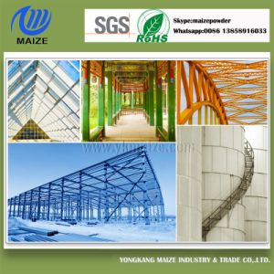 Salt Mist Resistance Powder Coating for Outdoor Steel Structure pictures & photos