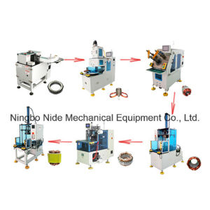Automatic Three Phase Motor Stator Manufacturing Production Lines pictures & photos