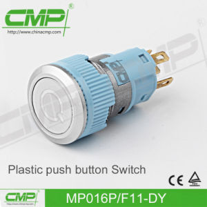 Plastic Push Button Switch with Power Illuminated Lamp pictures & photos