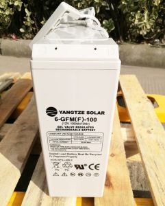 Yangtze Solar Front Terminal 12V 100ah Power Supply UPS Battery pictures & photos